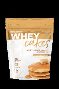 RULE 1 WHEY CAKES PANCAKE & WAFFLE MIX