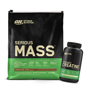 OPTIMUM NUTRITION SERIOUS MASS CREATINE POWDER COMBO