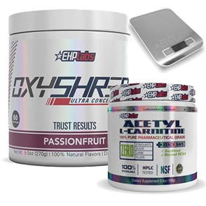 EHP LABS OXYSHRED & ACETYL L-CARNITINE COMBO