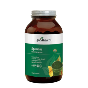 GOOD HEALTH ORGANIC SPIRULINA POWDER HAWAAIAN