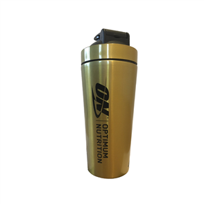 OPTIMUM NUTRITION GOLD STANDARD STAINLESS STEEL SHAKER