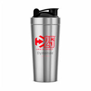 DYMATIZE STAINLESS STEEL 25TH ANNIVERSARY SHAKER
