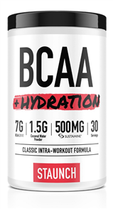 STAUNCH NUTRITION BCAA +HYDRATION