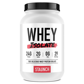 STAUNCH NUTRITION WHEY ISOLATE