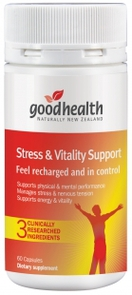 GOOD HEALTH STRESS AND VITALITY SUPPORT