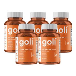 GOLI PREORDER SUPERFRUITS 5 PACK