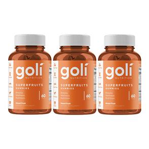 GOLI PREORDER SUPERFRUITS TRIPLE COMBO