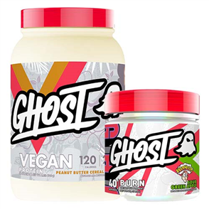 GHOST LIFESTYLE VEGAN PROTEIN & BURN COMBO