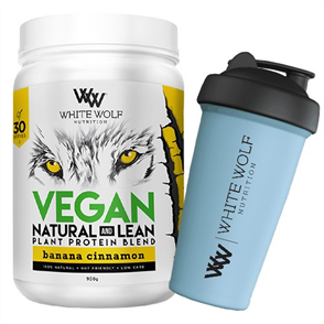 WHITE WOLF NUTRITION VEGAN NATURAL & LEAN PLANT PROTEIN