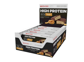 MUSASHI P45 HIGH PROTEIN BAR