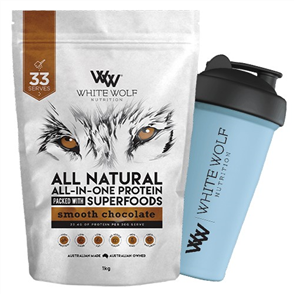 WHITE WOLF NUTRITION WHEY PROTEIN BLEND
