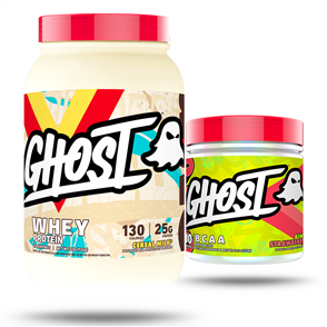 GHOST LIFESTYLE WHEY & BCAA COMBO