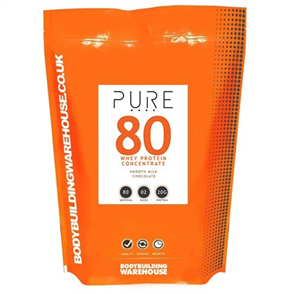 BODYBUILDING WAREHOUSE PURE WHEY PROTEIN CONCENTRATE 80