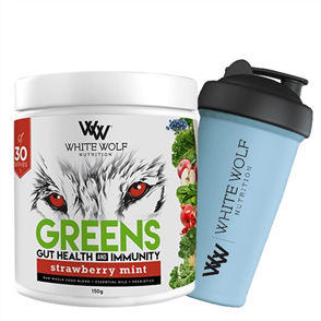 WHITE WOLF NUTRITION GREENS GUT HEALTH & IMMUNITY