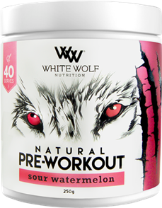 WHITE WOLF NUTRITION NATURAL PRE WORKOUT