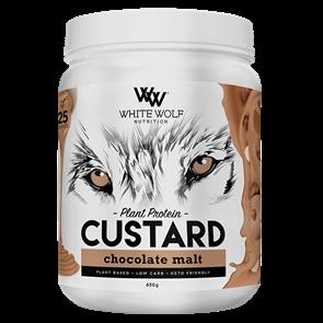 WHITE WOLF NUTRITION CUSTARD PLANT PROTEIN