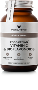 WILD NUTRITION FOOD GROWN VITAMIN C & BIOFLAVONOIDS