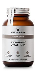 WILD NUTRITION FOOD GROWN VITAMIN D