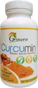 GRENERA CURCUMIN TURMERIC EXTRACT WITH PIPERINE