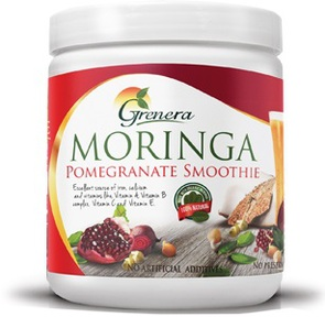 GRENERA MORINGA POMEGRANATE SMOOTHIE