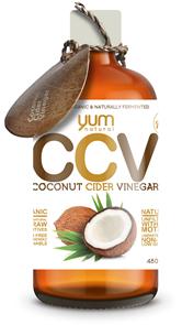 YUM NATURALS CCV COCONUT CIDER VINEGAR