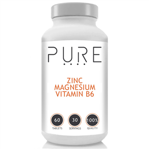 BODYBUILDING WAREHOUSE PURE ZINC MAGNESIUM & VITAMIN B6
