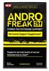 FREE Pharmafreak Andro Freak 60 Caps with Pharmafreak Anabolic Freak 2.0 purchase